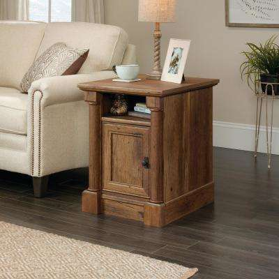 Palladia Collection Vintage Oak 1-Door End/Side Table
