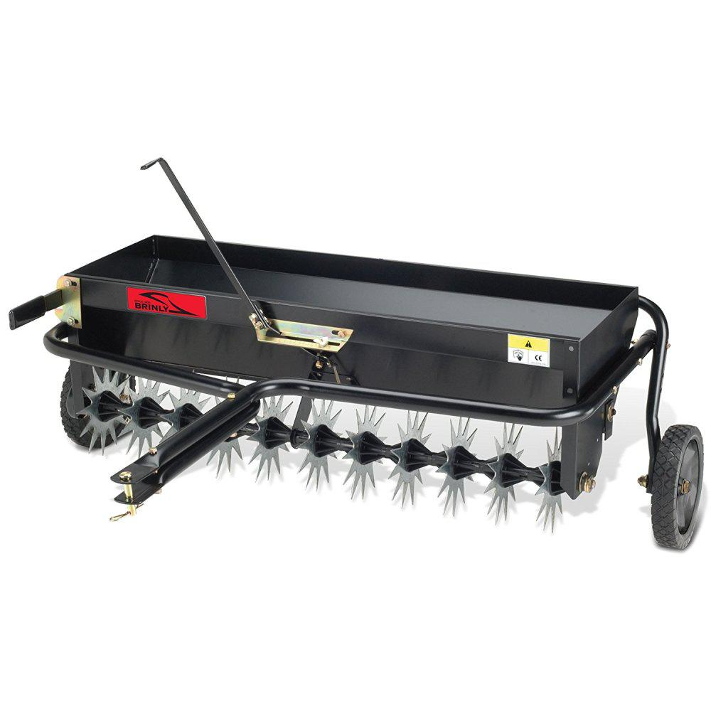 Brinly-Hardy 40 in. Tow-Behind Combination Aerator-Spreader