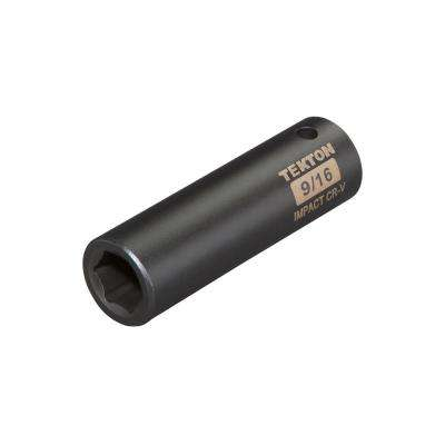 1/2 in. Drive 9/16 in. 6-Point Deep Impact Socket