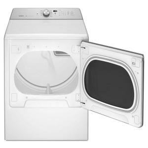 8.8 cu. ft. 240-Volt White Electric Vented Dryer with Advanced Moisture Sensing, ENERGY STAR