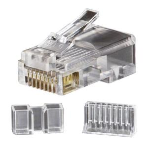 Ideal RJ45 Cat6 Modular Plugs (25-Pack)-85-366 - The Home Depot on