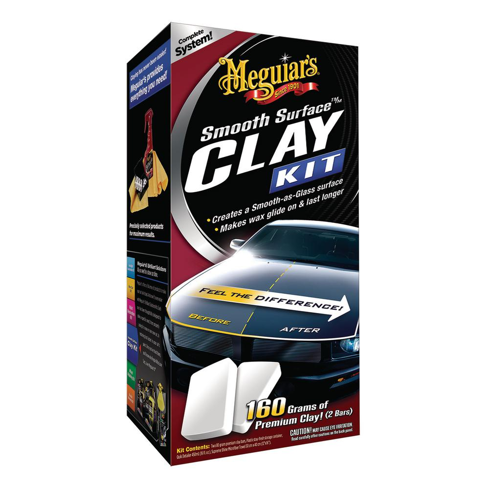 Meguiar's 80 g Smooth Surface Clay Kit (2-Pack)
