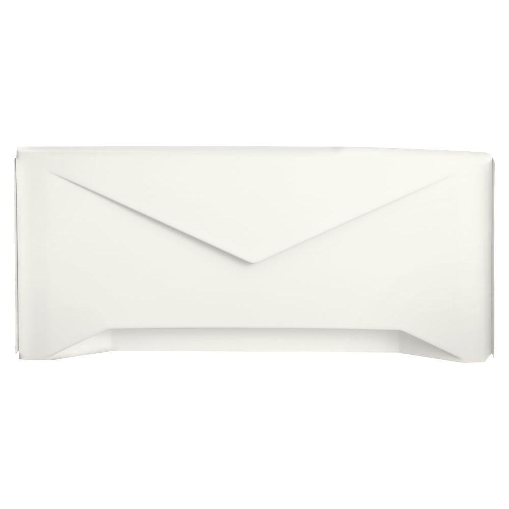 KOHLER Greek Non-Removable Apron in White-DISCONTINUED