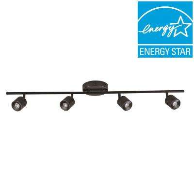 Orly 4-Light Oil Rubbed Bronze LED Fixed Track Lighting