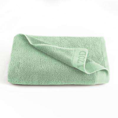 Classic Egyptian Cotton Bath Towel in Soft Green