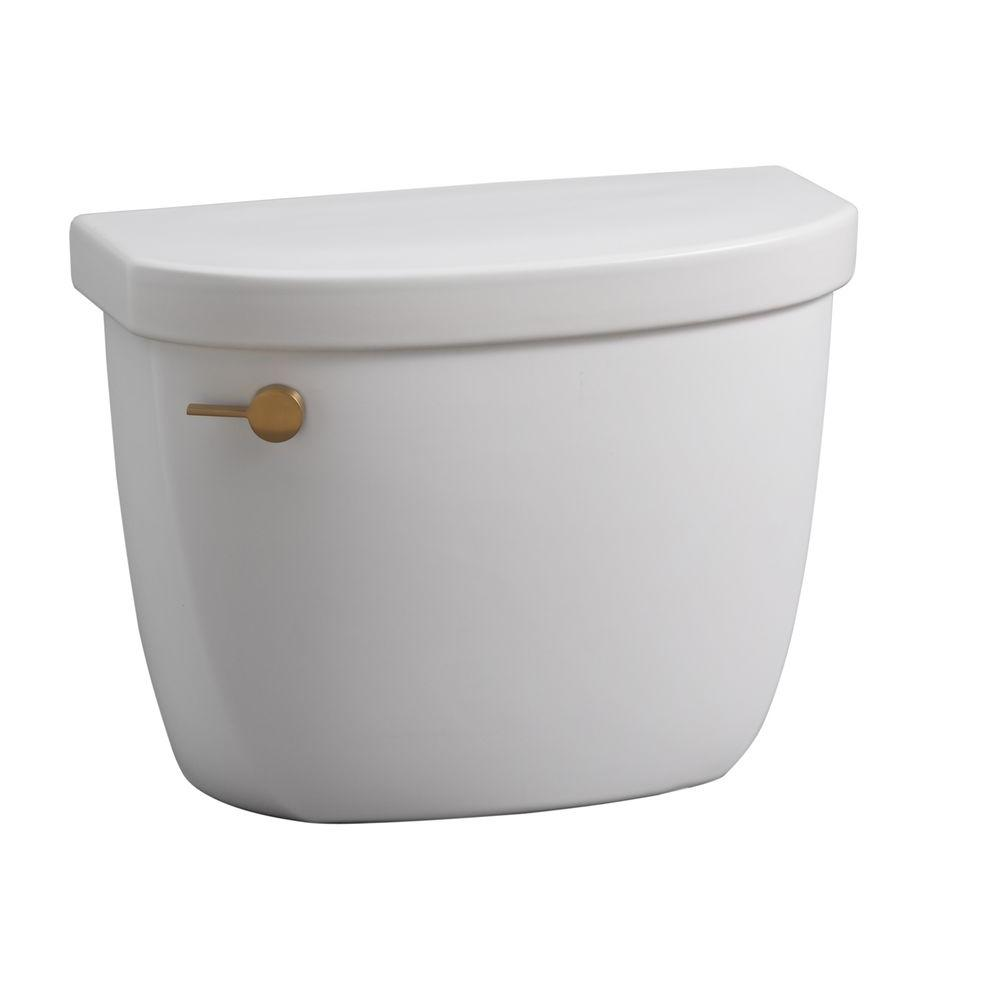 KOHLER Cimarron 1.6 GPF Toilet Tank Only with AquaPiston Flushing Technology in Honed White