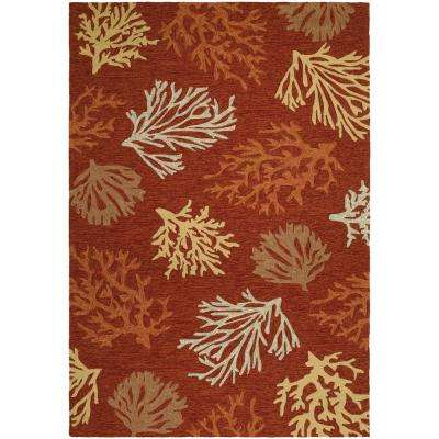 Terracotta Outdoor Rugs Rugs The Home Depot