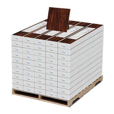High Gloss Redmond African 8 mm Thick x 7-3/5 in. Wide x 47-7/8 in. Length Laminate Flooring (1010 sq. ft. / Pallet)