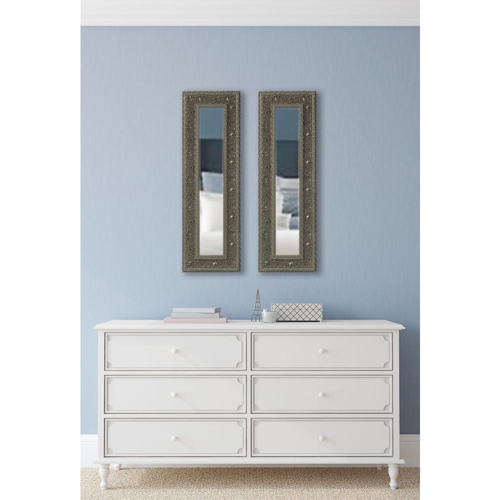 Ont Silver Vanity Mirror Set Of 2