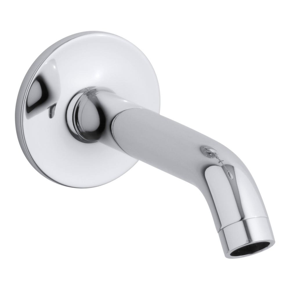 Purist Wall-Mount Bath Spout in Polished Chrome