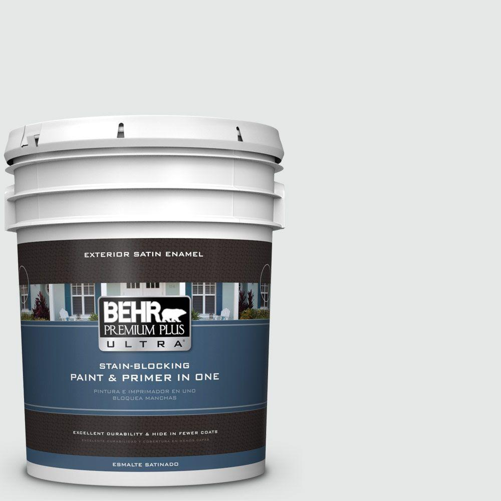 BEHR Premium Plus Ultra 5-gal. #770E-1 Quietude Satin Enamel Exterior Paint