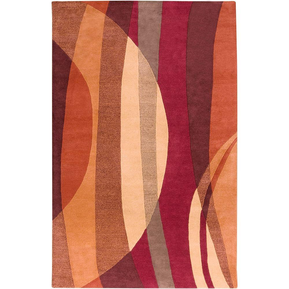 Artistic Weavers Nashua Wine 2 Ft X 3 Ft Accent Rug