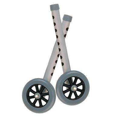 Extended Height Walker Wheels with Legs Combo Pack and 5 in. Wheels