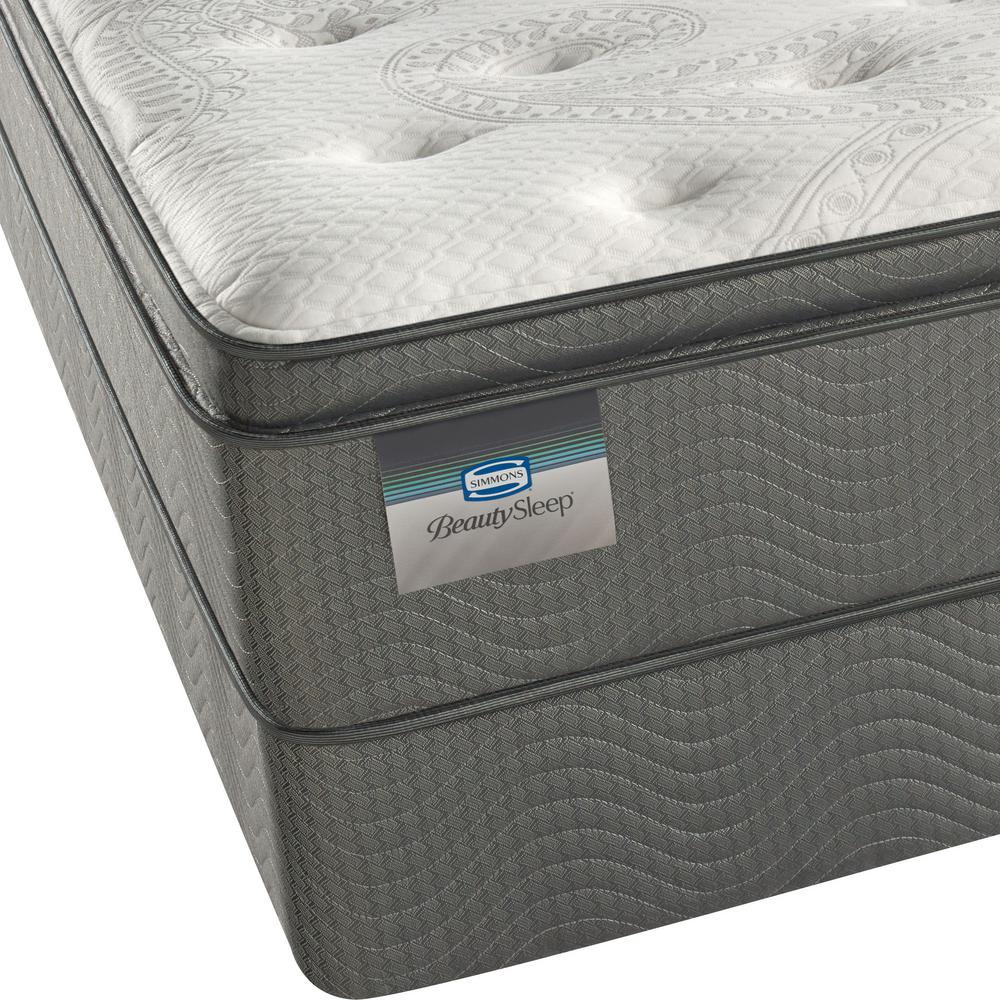 Simmons North Star Cal King Luxury Firm Pillow Top Mattress Set