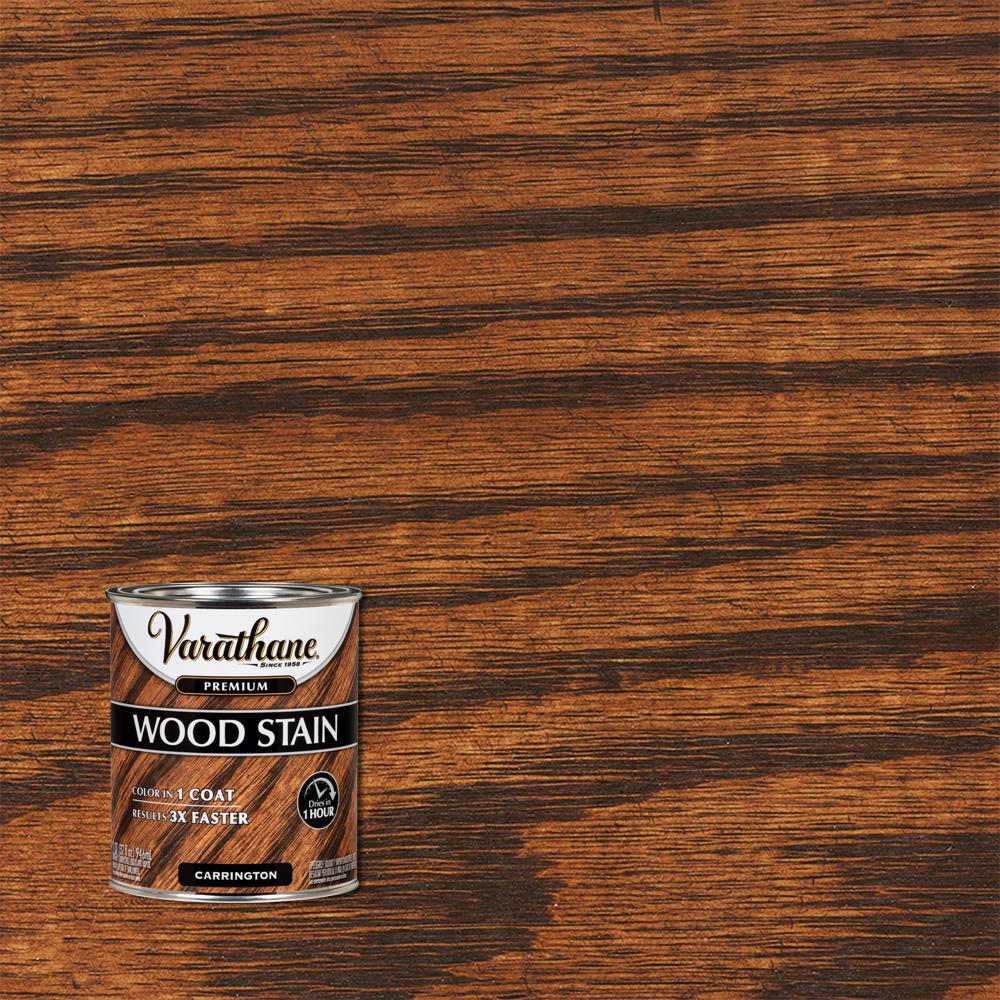 Varathane 1 qt. Carrington Premium Fast Dry Interior Wood Stain (2-Pack)