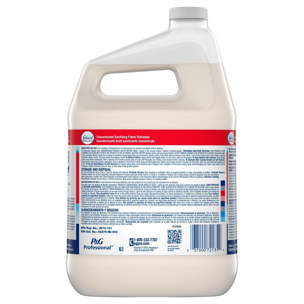 Procter /& Gamble 72136EA Professional Sanitizing Fabric Refresher Light Scent,