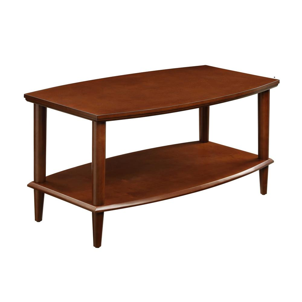 Winsome Wood Genoa Espresso Coffee Table 92219 The Home Depot
