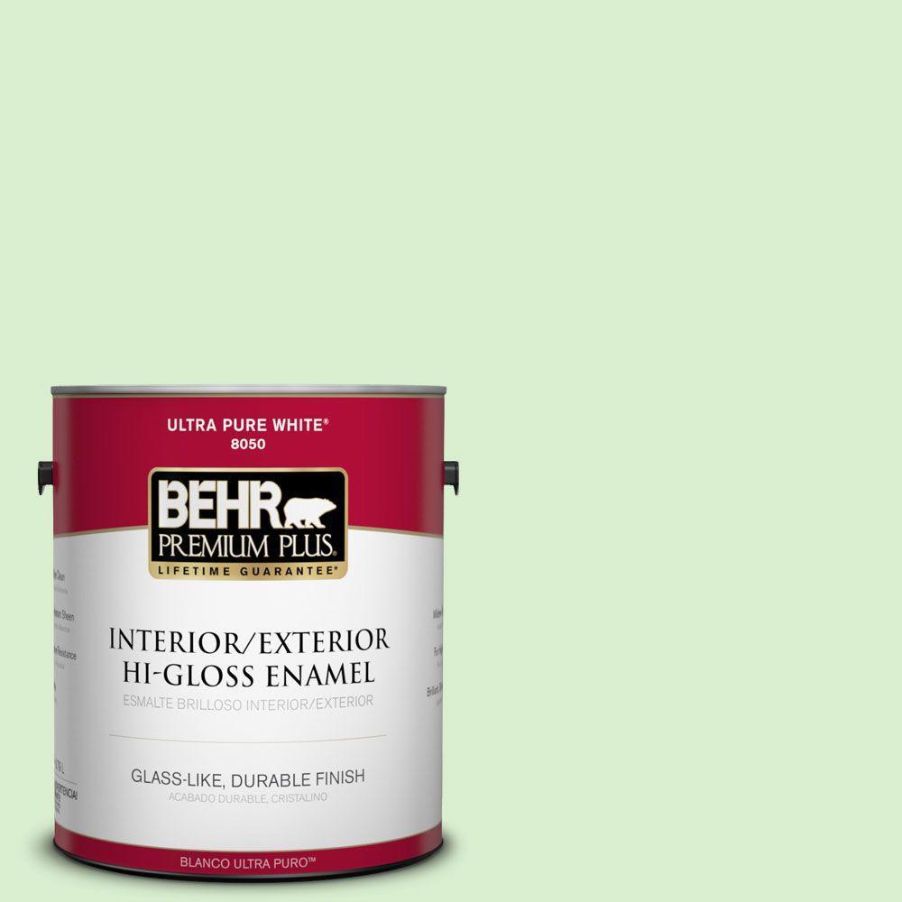1-gal. #430A-2 Seafoam Spray Hi-Gloss Enamel Interior/Exterior Paint