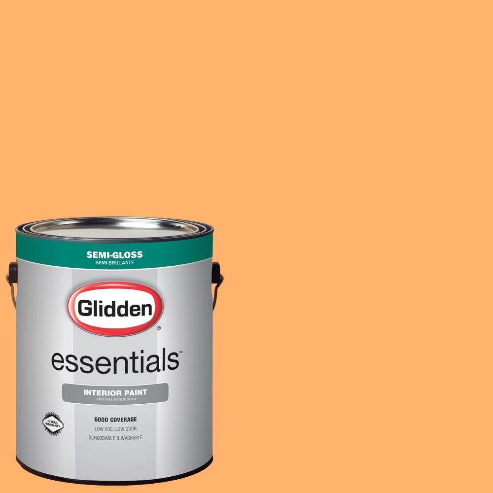 Hdgo41 Juicy Cantaloupe Semi Gloss Interior Paint