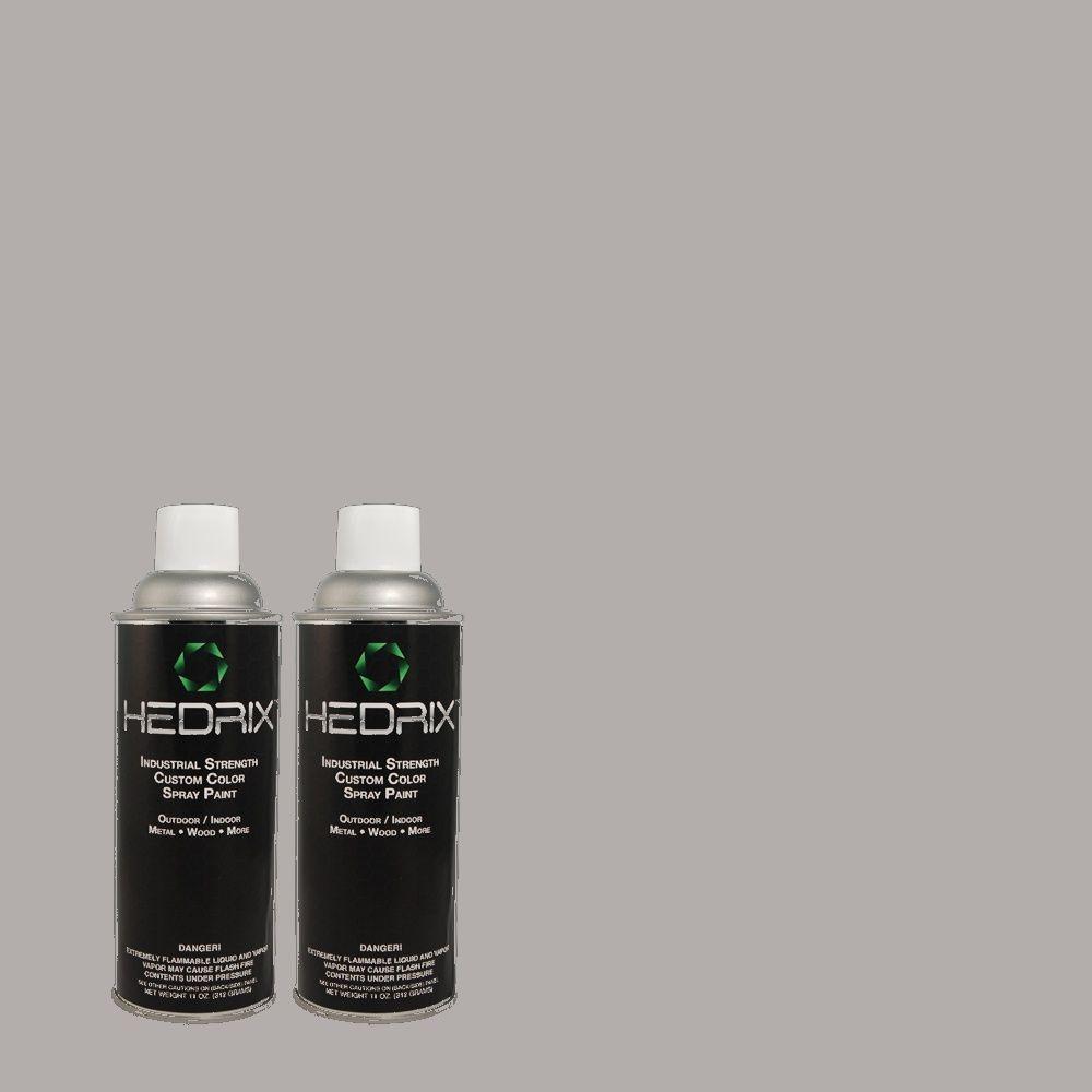 Hedrix 11 oz. Match of 3A48-4 Violet Print Low Lustre Custom Spray Paint (2-Pack)