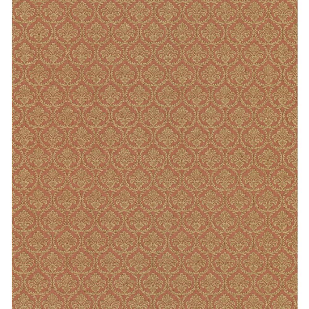 Brewster Shell Motif Wallpaper
