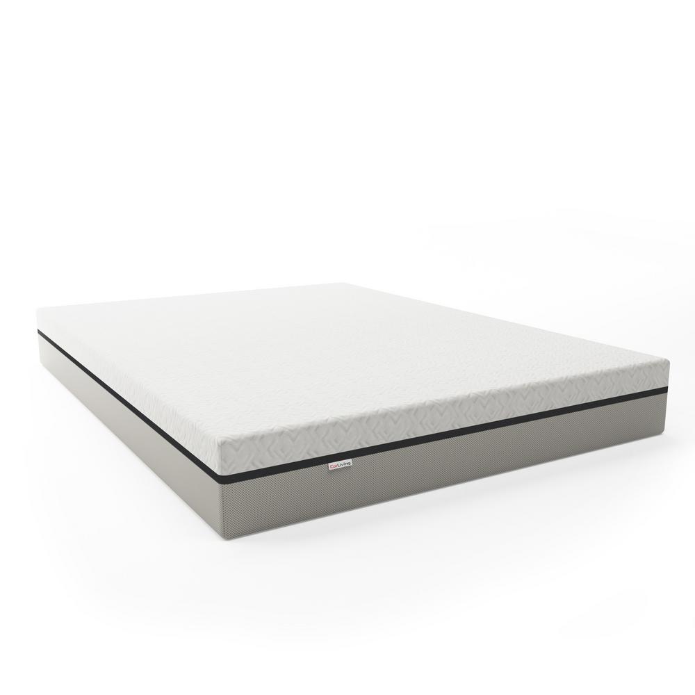 Sleep Collection 10in. Medium Memory Foam Tight Top Queen Mattress