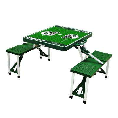 New York Jets Sport Plastic Outdoor Patio Picnic Table