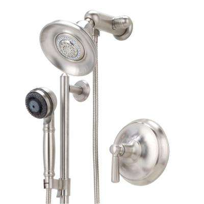 Bancroft Essential Performance Shower Package in Vibrant Brushed Nickel