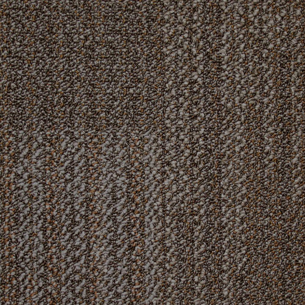 Liberty Old Silver Loop 19.7 in. x 19.7 in. Carpet Tile (20 Tiles/Case)