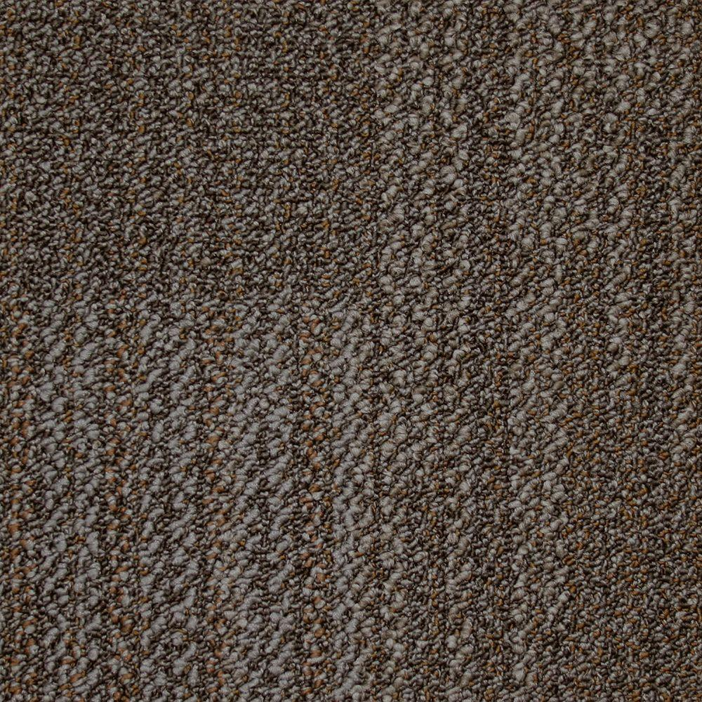 Liberty Old Silver Loop 19.7 in. x 19.7 in. Carpet Tile