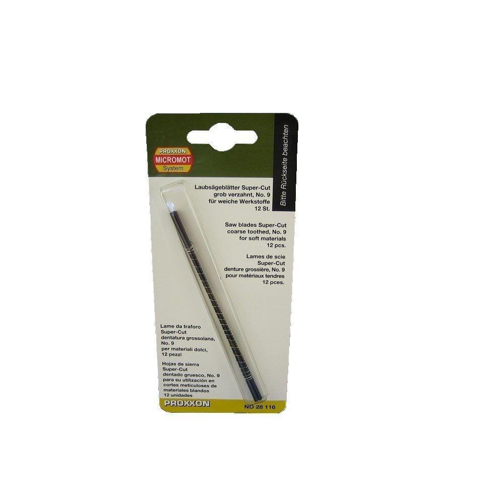 Proxxon 14-TPI Super-Cut Scroll Saw Blades for Wood