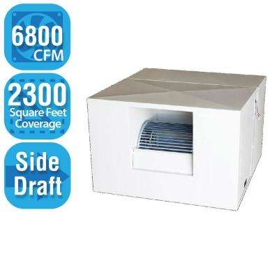 6,800 CFM Side-Draft Rigid Roof/Side Evap Cooler (Swamp Cooler) for 20 in. Ducts 2,300 sq. ft. (Motor Not Included)