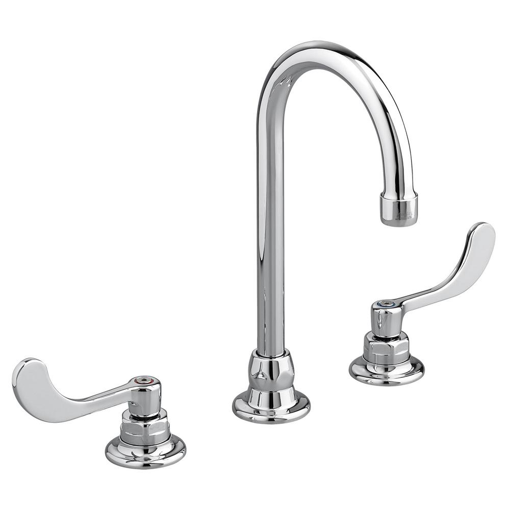 American Standard Monterrey 8 In Widespread 2 Handle Bathroom Faucet In Polished Chrome 6540170