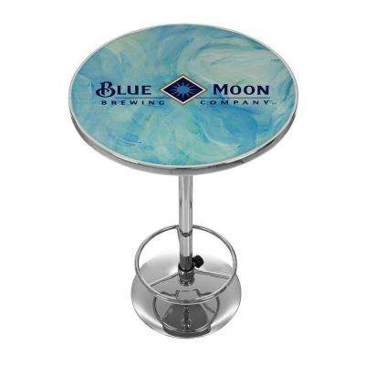 Blue Moon Chrome Pub/Bar Table