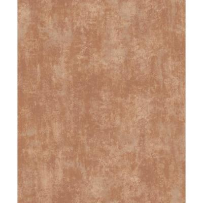 Stone Textures Rust and Copper Non-Woven Wallpaper