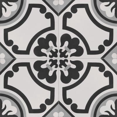 Cementine Lily 16 in. x 16 in. Durabody Ceramic Floor and Wall Tile (17.22 sq. ft. / case)