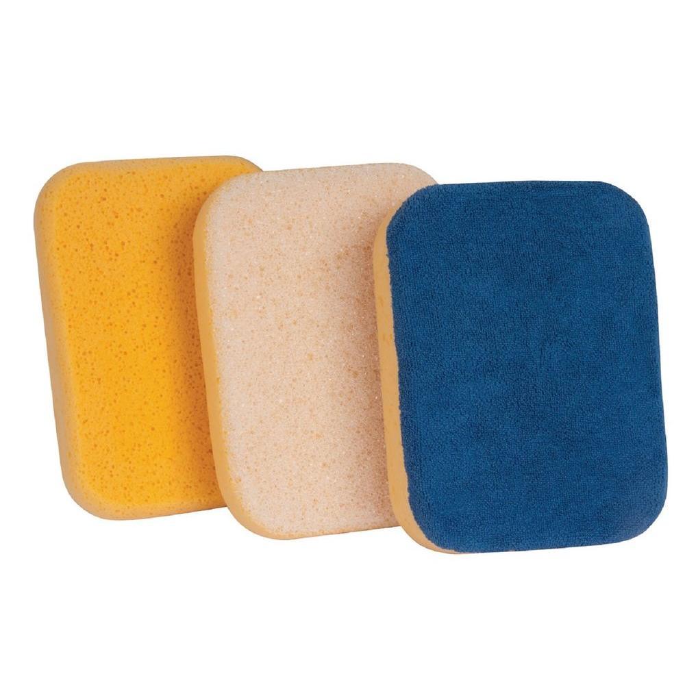 Microfiber, All-Purpose and Scrubbing Sponge (3-Pack)