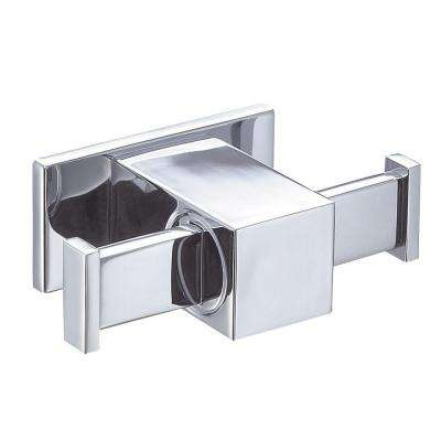 Sirius Double Robe Hook in Chrome