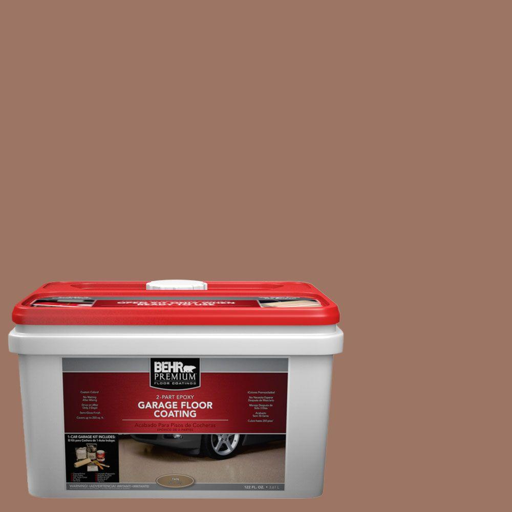 BEHR Premium 1-gal. #PFC-14 Iron Ore 2-Part Epoxy Garage Floor Coating Kit