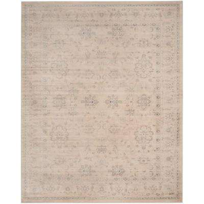Vintage Cream 10 ft. x 14 ft. Area Rug