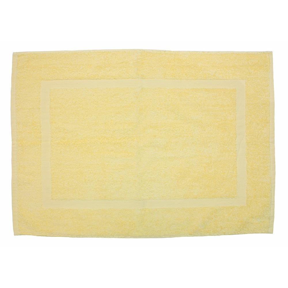 20 in. x 30 in. Buttermilk Provence Bath Mat