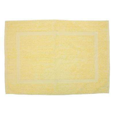 20 in. x 30 in. Buttermilk Provence Bath Mat