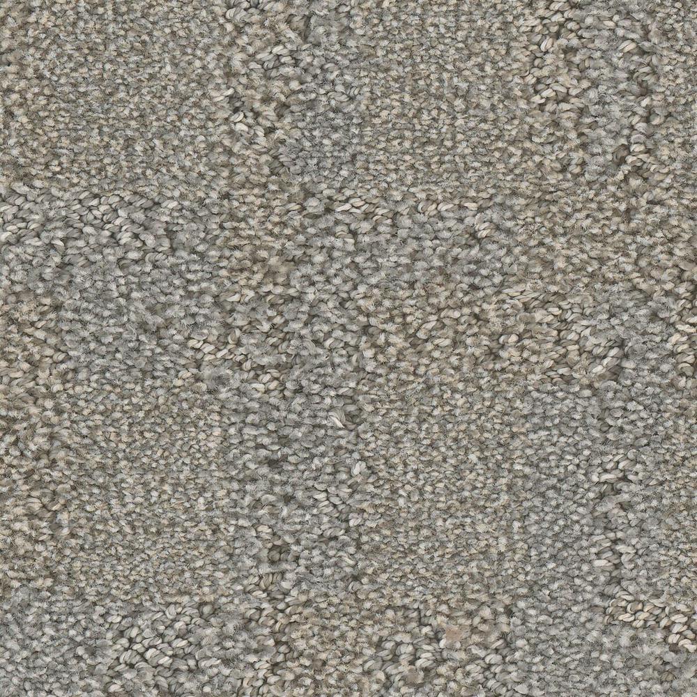 Carpet Sample - Open Wheel - Color Winding Pattern 8 in. x 8 in.