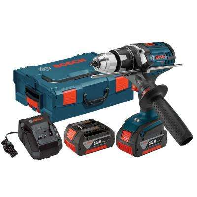 18 Volt Lithium-Ion Cordless 1/2 in. Variable Speed Brute Tough Drill/Driver Kit with Hard Case