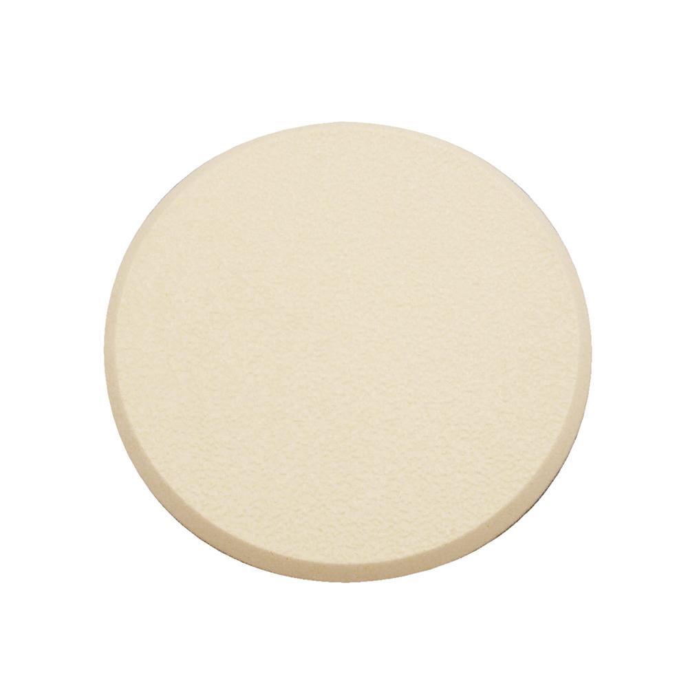3 1/4 in., Rigid Vinyl, Ivory, Self Adhesive Wall Protector
