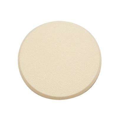 3-1/4 in. Dia Ivory Rigid Vinyl Self-Adhesive Wall Protector