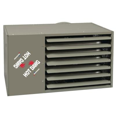 Hot Dawg Separated Combustion 125,000 BTU Natural Gas Garage Ceiling Heater