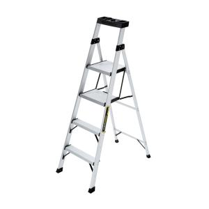 Gorilla Ladders 5.5 ft. Aluminum Hybrid Ladder with 250 lb. Load Capacity Type I... by Gorilla Ladders