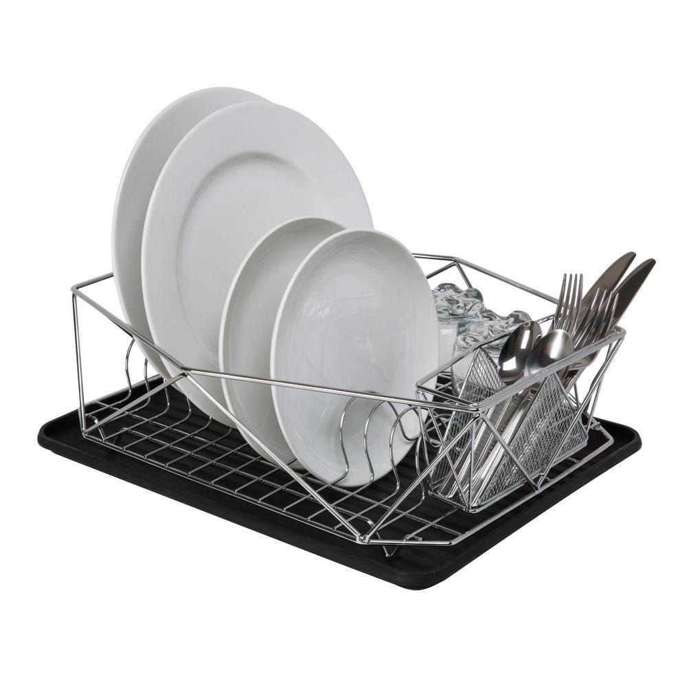 Kitchen Details Geode Chrome Dish Rack