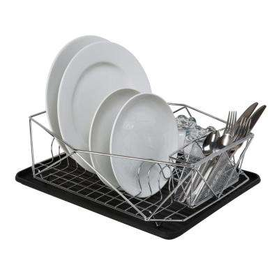 Geode Chrome Dish Rack